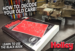 Tech Guide: Using Holley's Black Book!