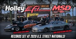 Holley EFI and MSD Set Records @ U.S. Street Nationals!