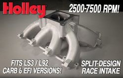 Holley Releases New Single Plane Split Intake Manifolds for GM LS3/L92!