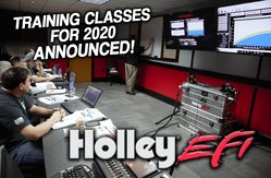Holley Factory EFI Training Schedule for 2020