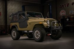 Check Out this Awesome Jeep CJ-7 V8 Conversion With a GM Gen V L83 Engine and Holley EFI