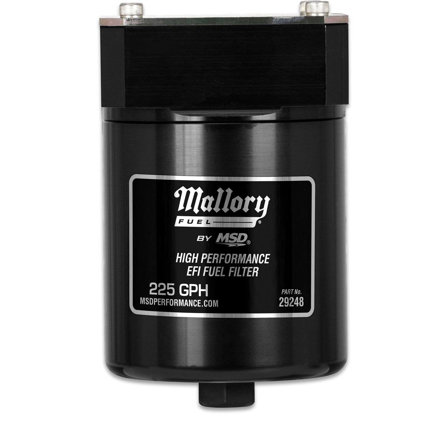 29248 - Mallory High Pressure EFI Fuel Filter Image