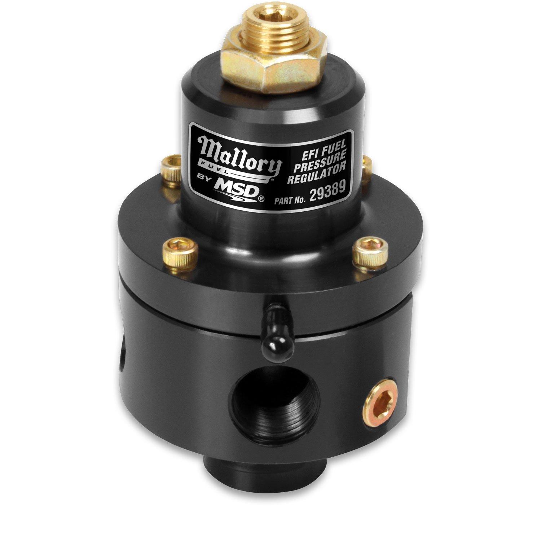 29389 - Mallory Adjustable Fuel Pressure Regulator for EFI Image