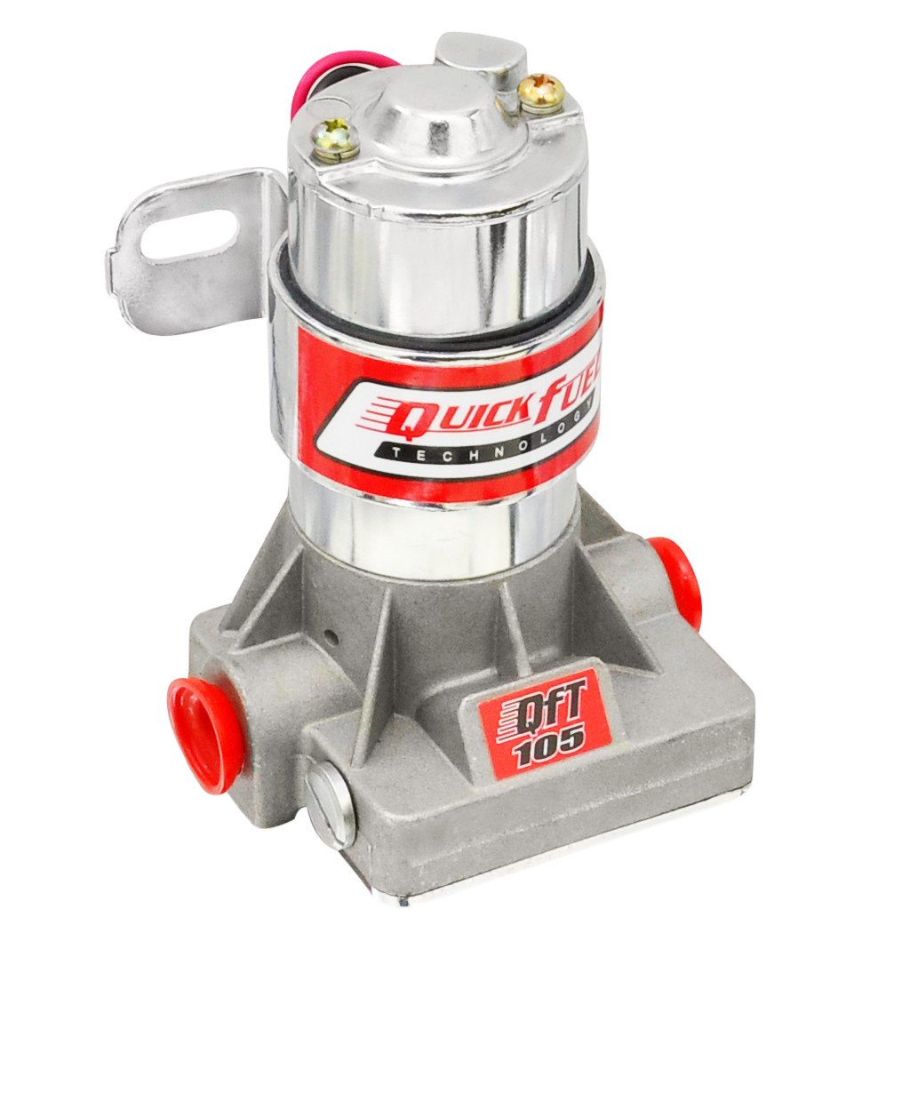 Quick Fuel Technology 30-105QFT Universal Electric Fuel Pump 105 GPH 7 PSI Red
