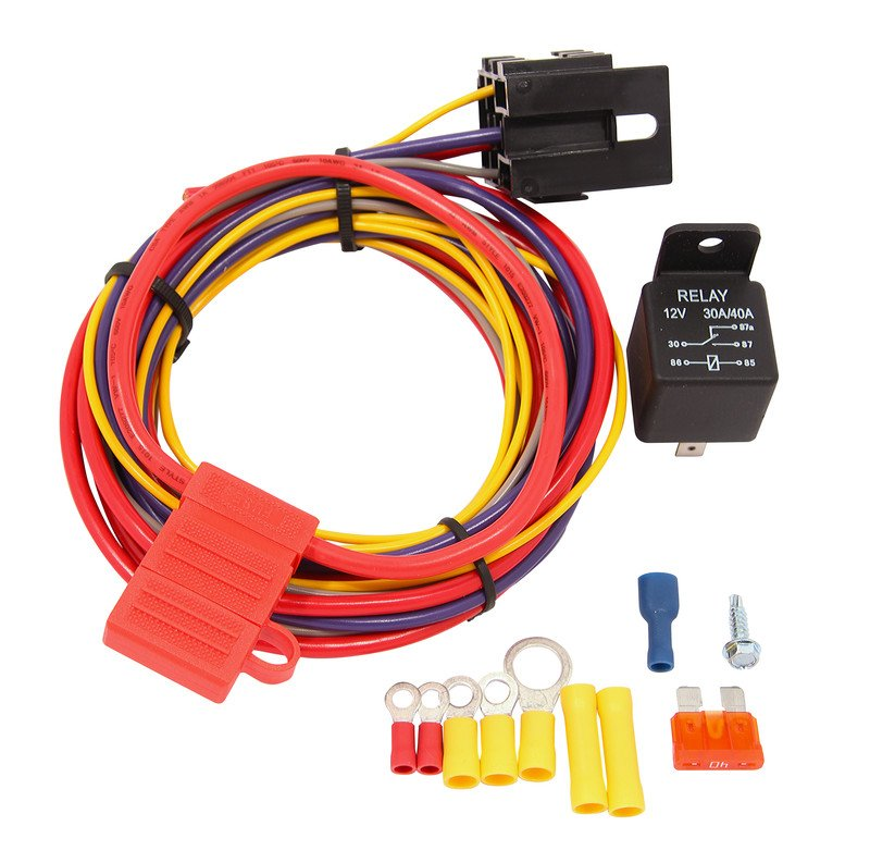 quick fuel 30 199qft 30 amp wiring kit rh holley com