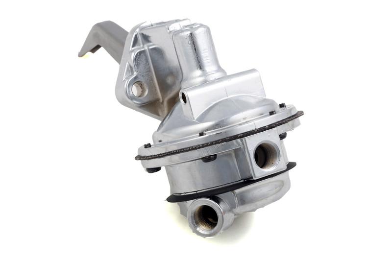 Ford SB 289 302W High Volume Mechanical Fuel Pump Chrome