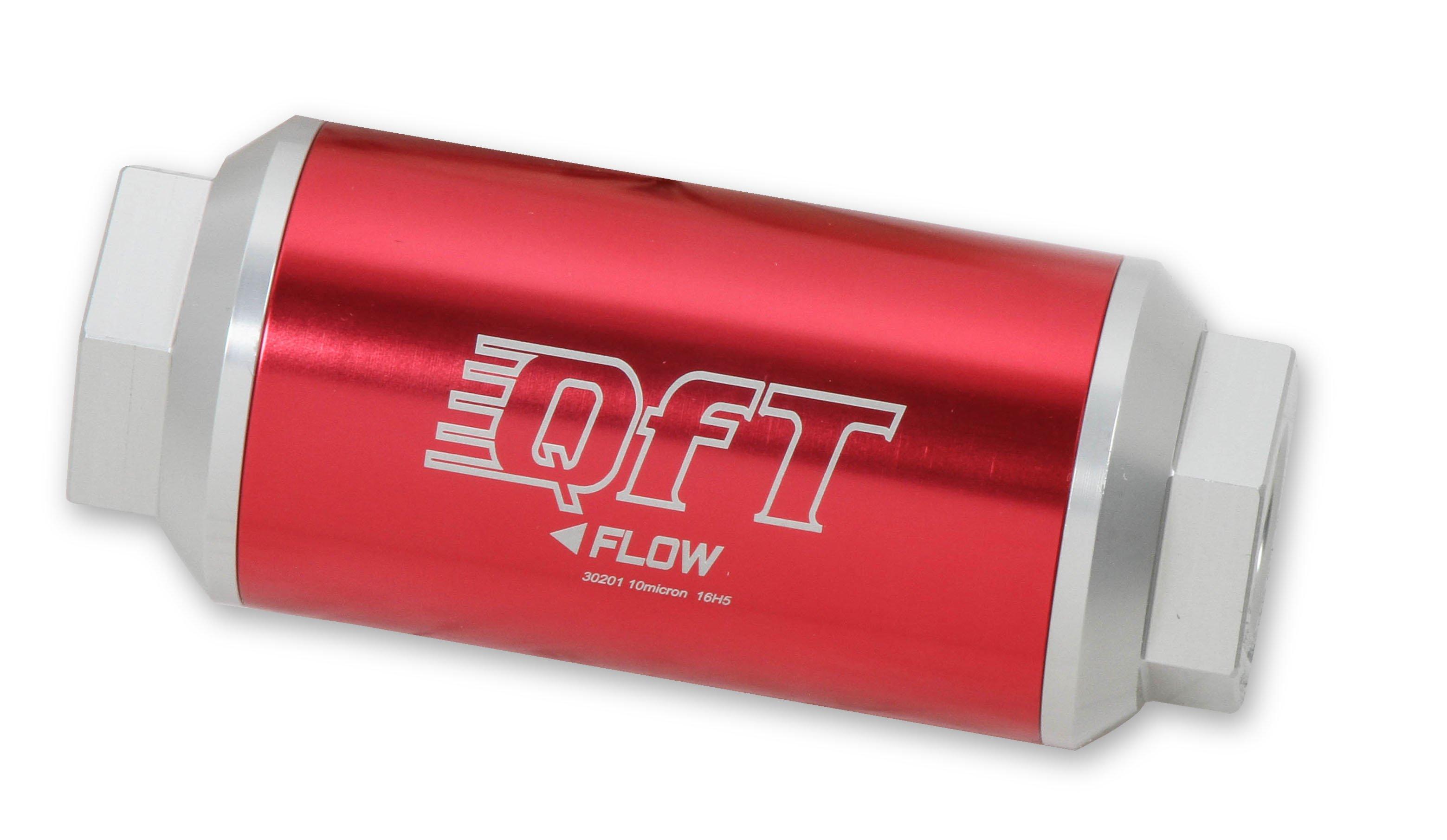 30-7201QFT - 175 GPH Billet Fuel Filter Image