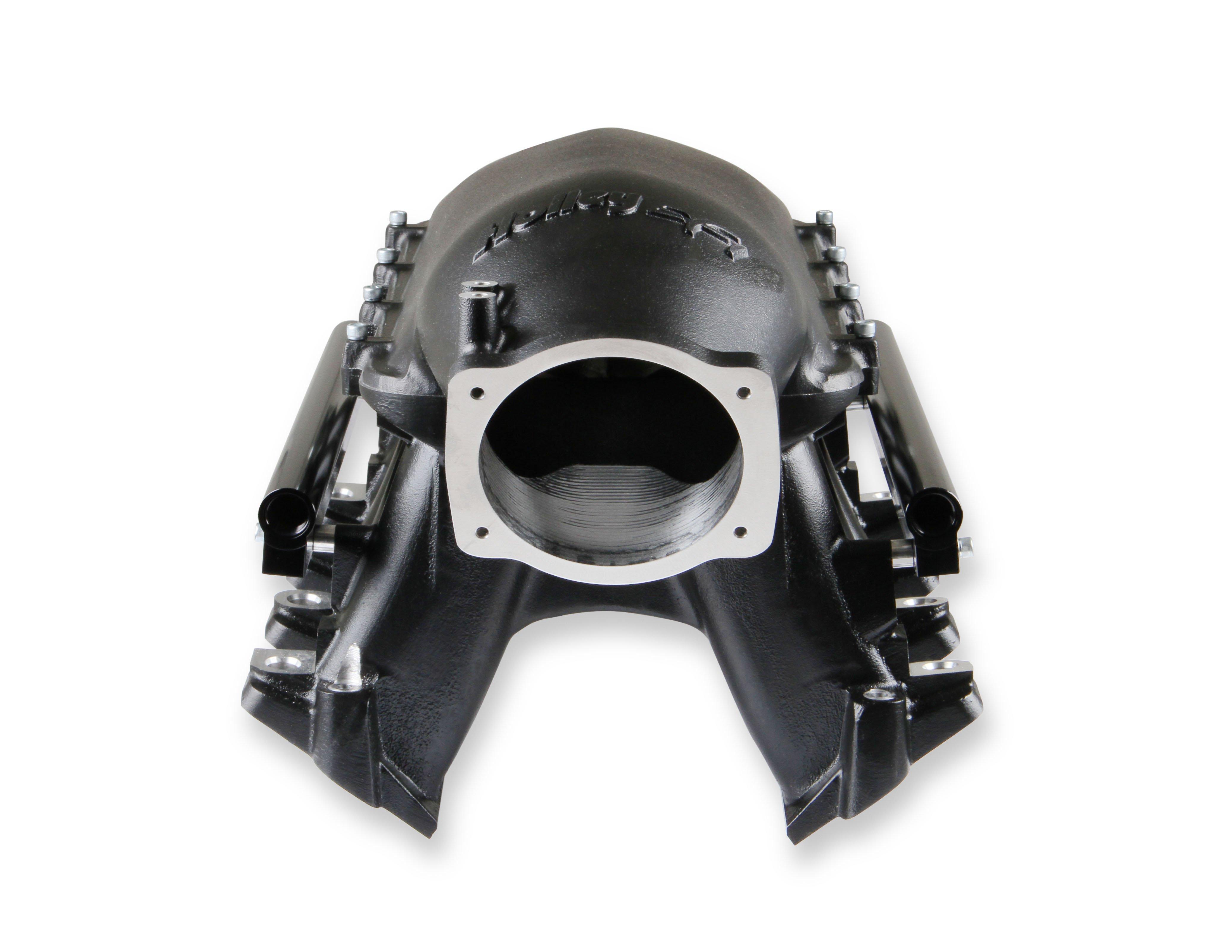 Holley LS Hi-Ram EFI Manifold - Black