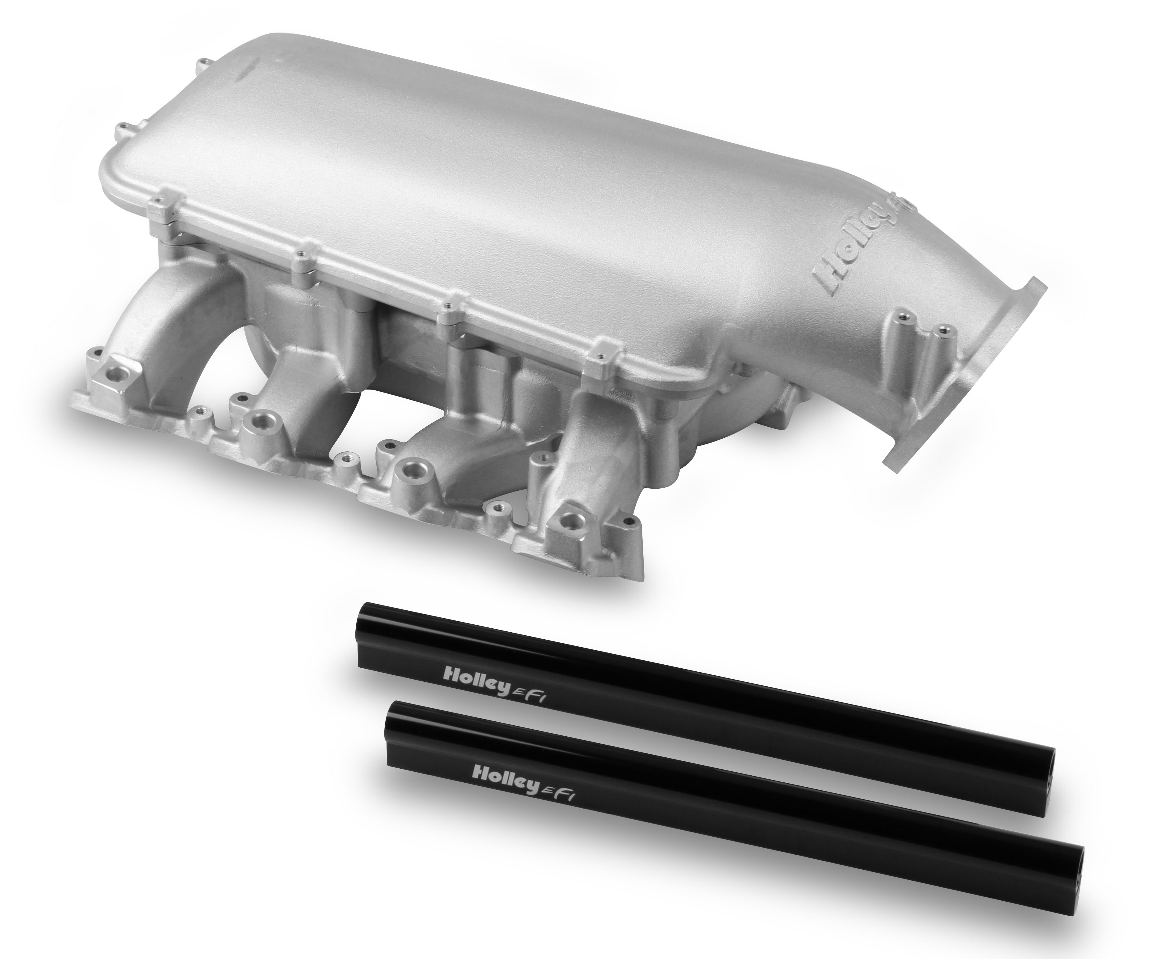 Holley Mid-Rise Intake - GM LS3/L92 w/ 105mm Top