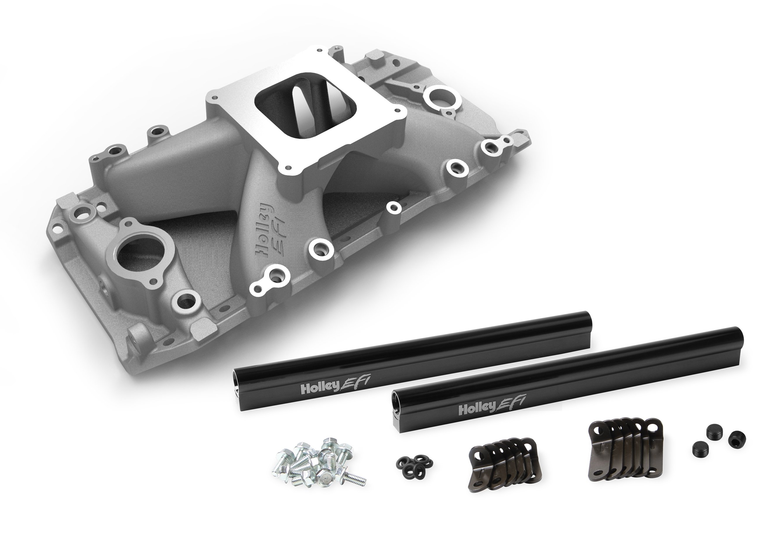 Holley EFI Intake - Chevy Big Block V8 EFI