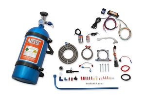 02127NOS - NOS Complete Wet Nitrous System for 2018-2019 Mustang w/ 5.0L Coyote Engine - Blue