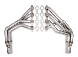 12157FLT - Flowtech Long Tube LS Swap Headers - Natural