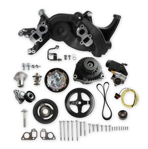 20-186BK - Holley Mid-Mount Race Accessory System-Black Finish
