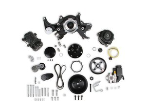20-242BK - Holley Big Block Chevy Mid-Mount Complete Accessory System