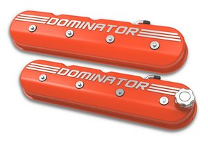 241-162 - Tall LS Dominator Valve Covers - Factory Orange