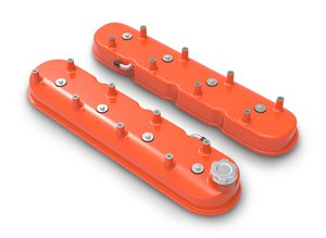 241-164 - Tall LS Valve Covers - Factory Orange