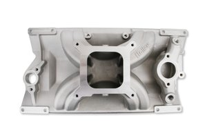 300-264 - Holley SBC 4150 Single Plane Intake Manifold - Chevy Small Block V8 with L31 Vortec cylinder heads