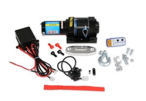 3510AOR - Anvil - 3,500 lbs Winch w/ Synthetic Rope & Aluminum Fairlead