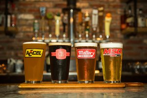 36-454 - HOLLEY 16OZ. LOGO PUB GLASS ASSORTMENT - 4 PACK (SERIES 3)