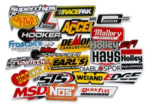 36-462 - Holley Go Fast Sticker Pack