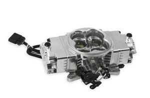 534-240 - Terminator Stealth 2x4 Slave Throttle Body - Polished