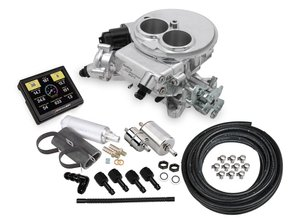 550-849K - Holley Sniper EFI 2300 Self-Tuning Master Kit - Shiny Finish