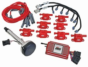 msd performance products official site 60151 dis kit chevy small big block red