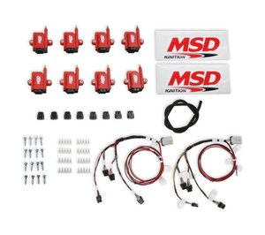 8289-KIT - MSD Ignition Coils, Smart Coil, Bigwire, Kit, Red