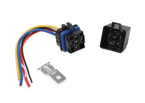 89611 - MSD SPST Relay w/Socket Harness