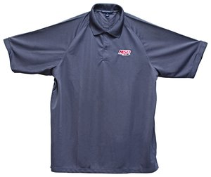 MSD Polo Shirt, Charcoal, Large