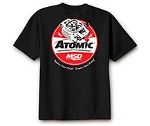 MSD Atomic T-Shirt, Black, Large