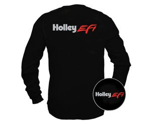 Holley EFI - Black Long Sleeve T-Shirt