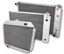 1955 1956 Chevrolet Two-Ten Series 4 Row Champion DR Radiator 6 Cylinder Mount