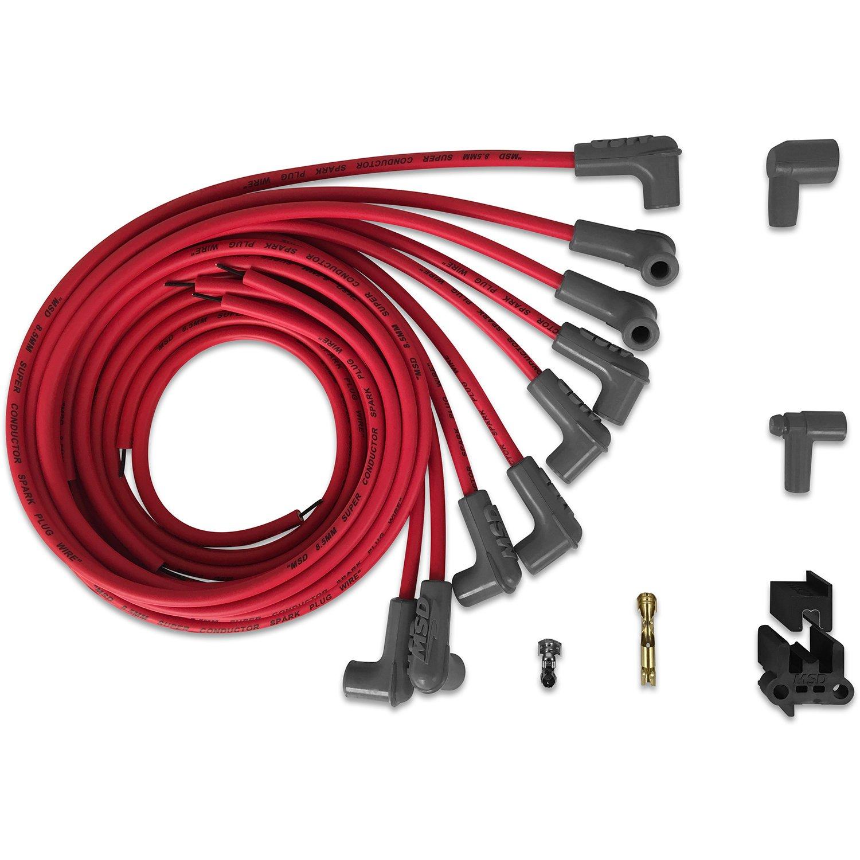 31229 - Super Conductor Spark Plug Wire Set, 8 Cyl 90° Plug/90° Plug Image