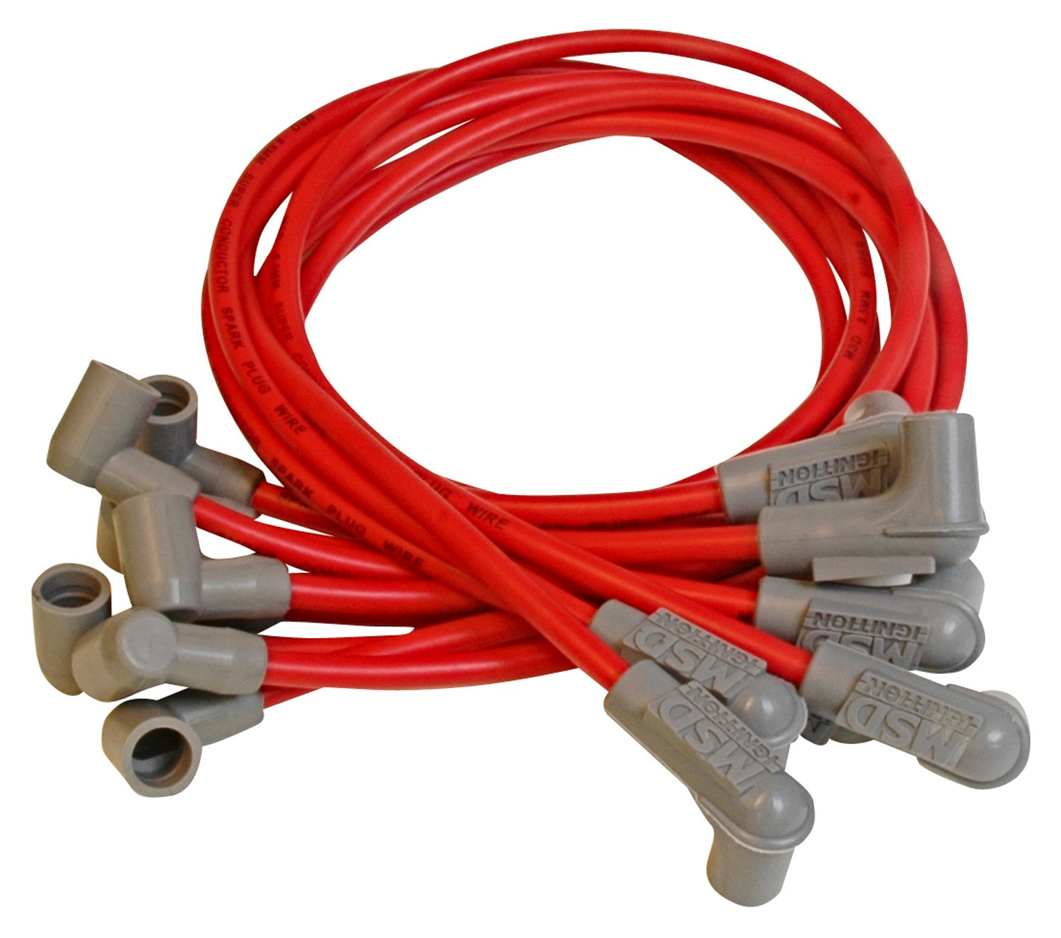 31599 - Super Conductor Spark Plug Wire Set, Small Block Chevy, Socket Dist. Cap Image