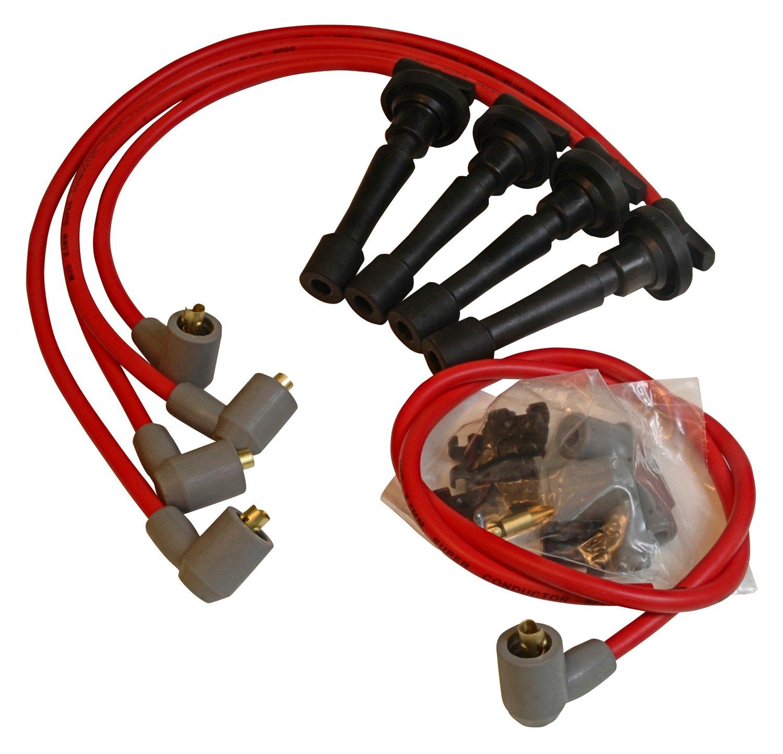 32329 - Super Conductor Spark Plug Wire Set, Acura/Int.,1.8L Non-Vtec '90-'97 Image