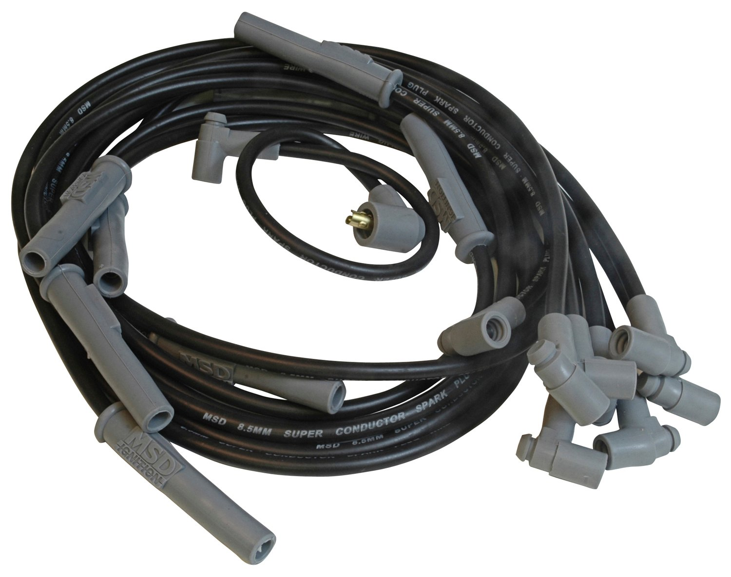 32733 - Wire Set, SC Blk, Chry. 383-440 HEI for MSD Dist. Image