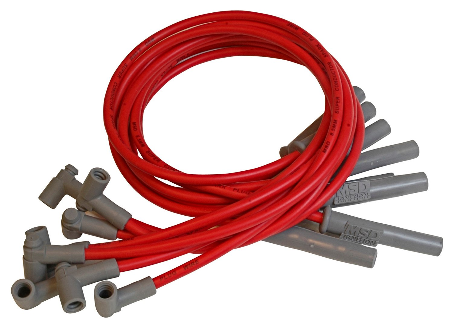 32739 - Super Conductor Spark Plug Wire Set, Chry. 383-440 HEI for MSD Dist. Image