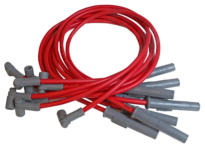 340 318 Dodge 273 Chrysler 360 HEI Black Spark Plug Wire Set Plymouth