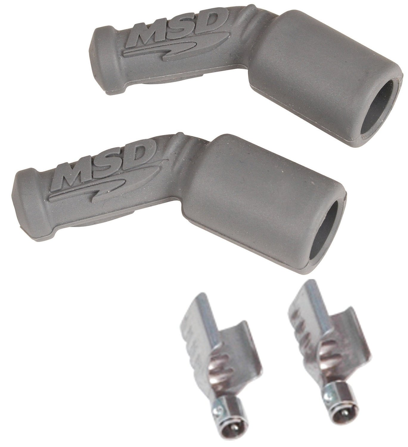 MSD Ignition 3311 Spark Plug Wire Boots /& Terminals 90 Degree