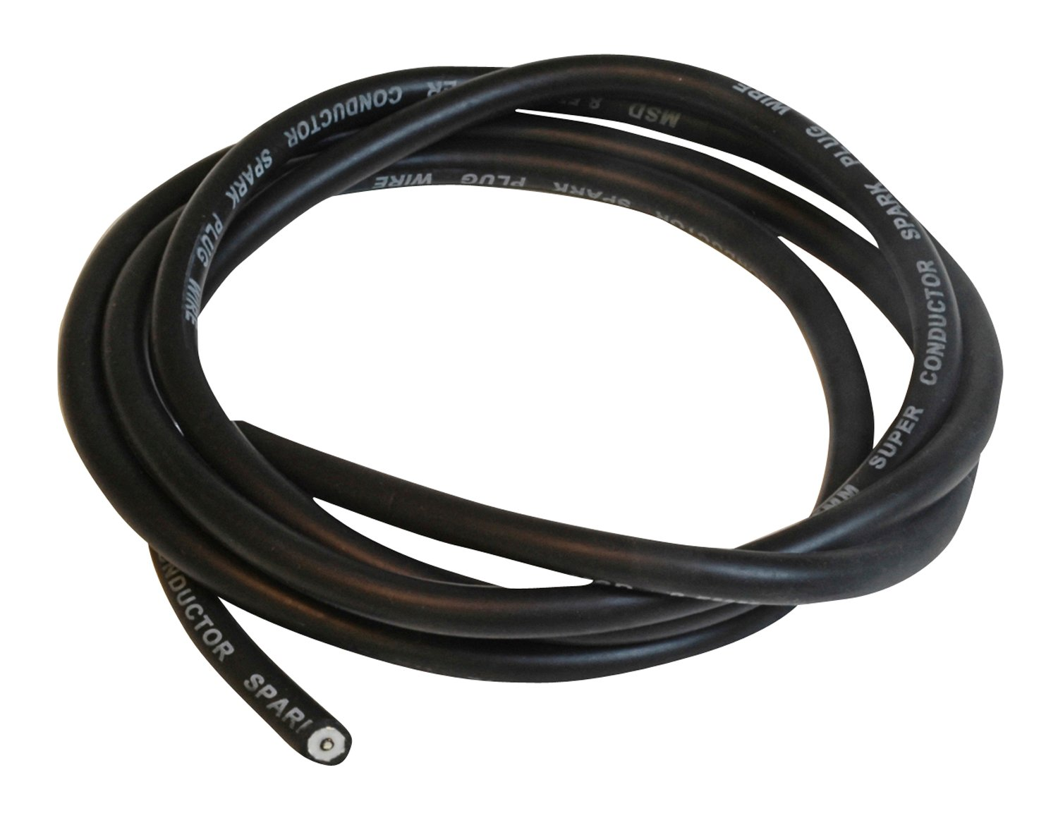 34033 - Super Conductor Bulk Wire, Black 6' Bulk Image