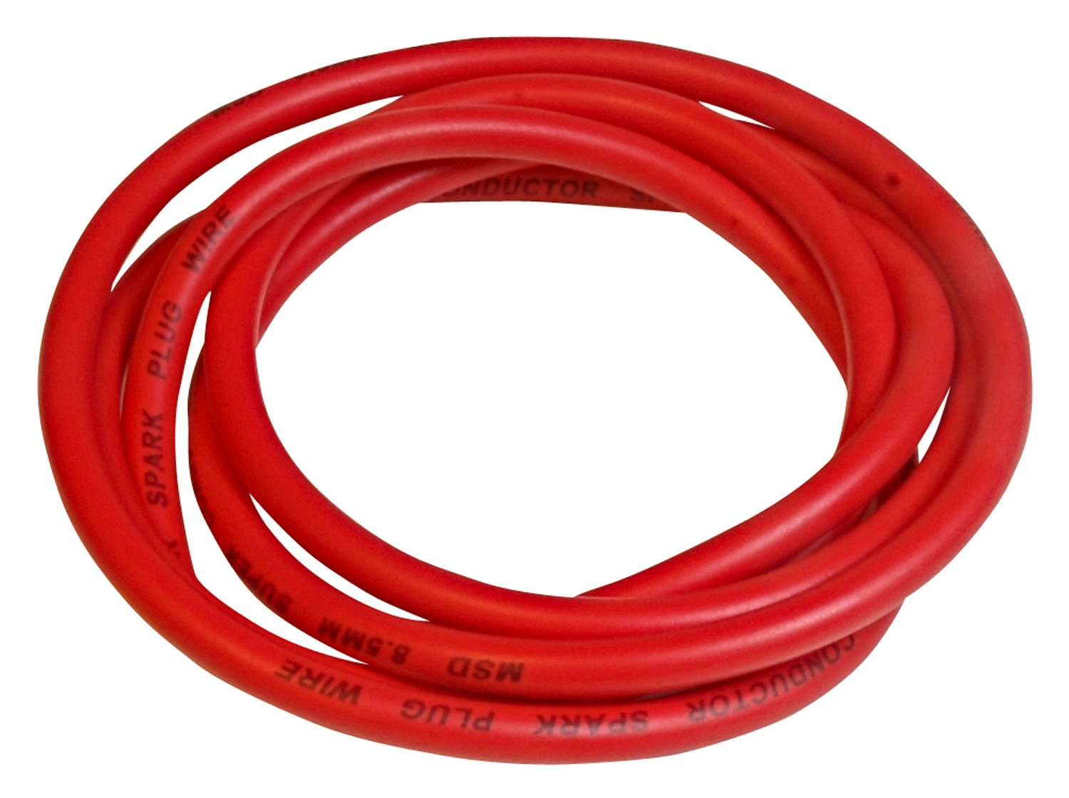 34039 - Super Conductor 8.5mm Wire, Red, 6' Bulk Image