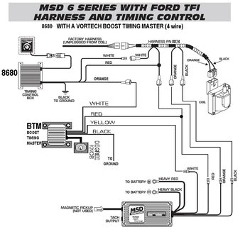 Msd timing retard wiring diagram