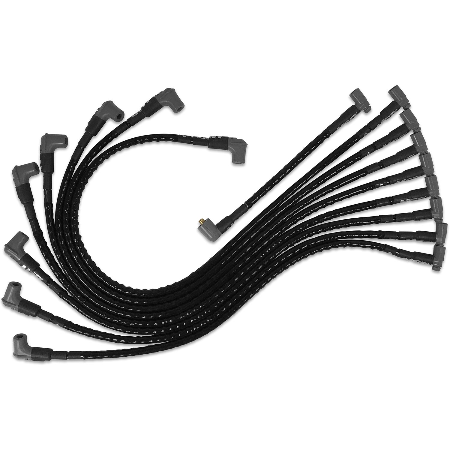 MSD 35591 Sleeved Spark Plug Wires for SBC under exhaust, HEI - MSD ...