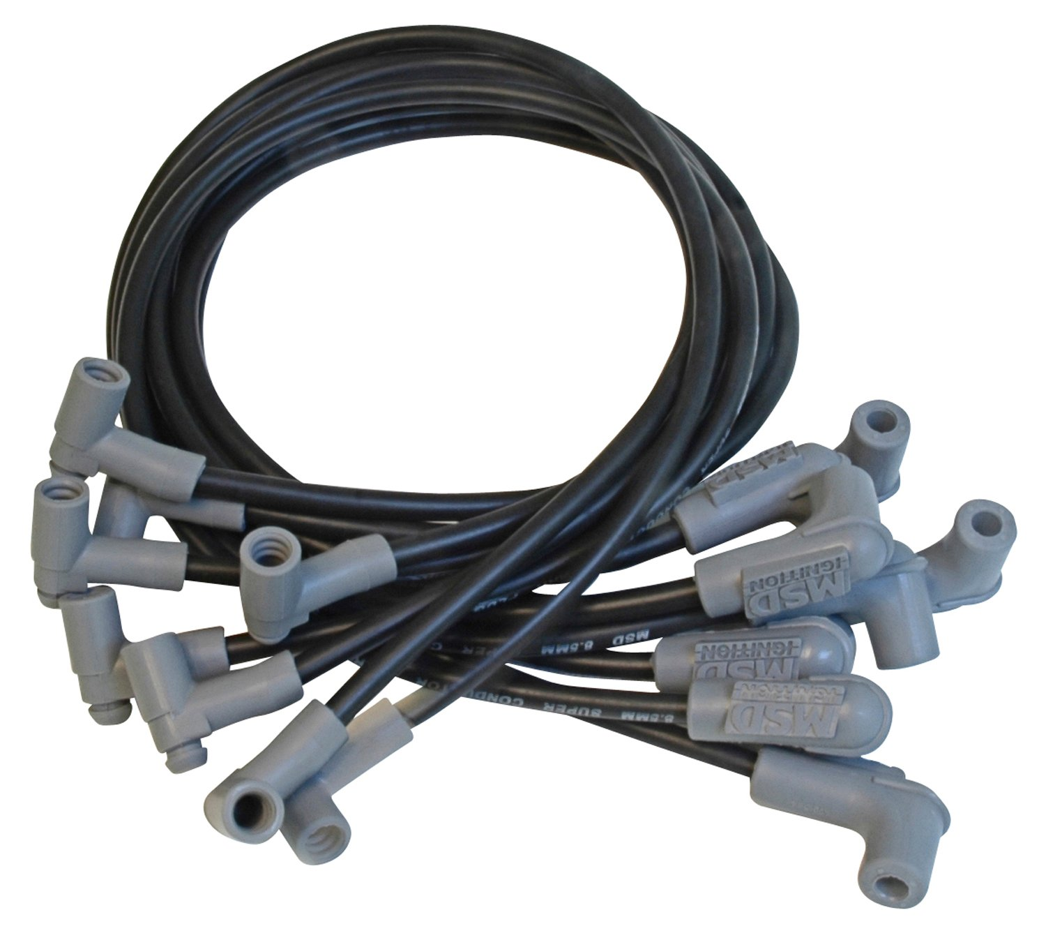 35653 - Wire Set, SC Blk, SB Chevy w/HEI Tower Cap Image