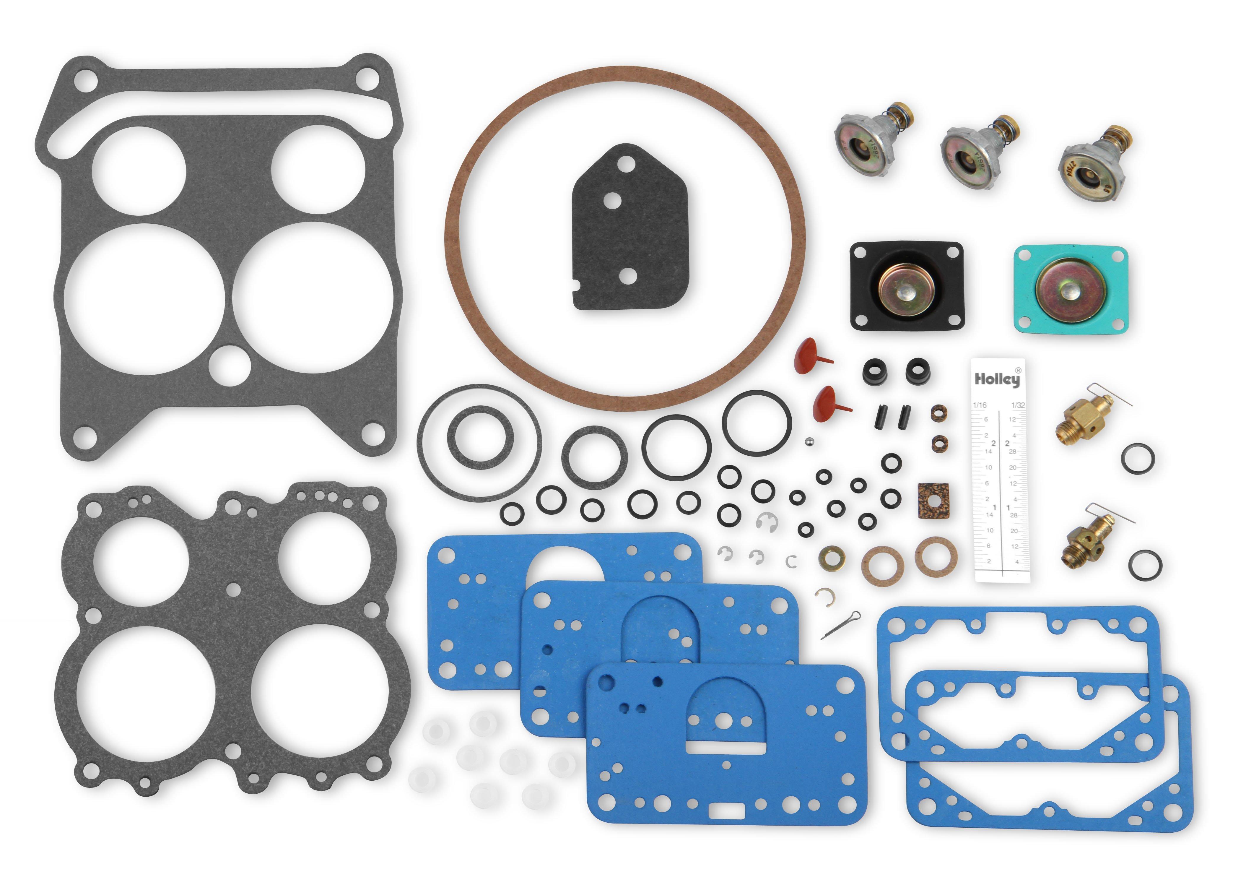 SUPERIOR Double Pumper Carburetor Rebuild Kit Carb Parts
