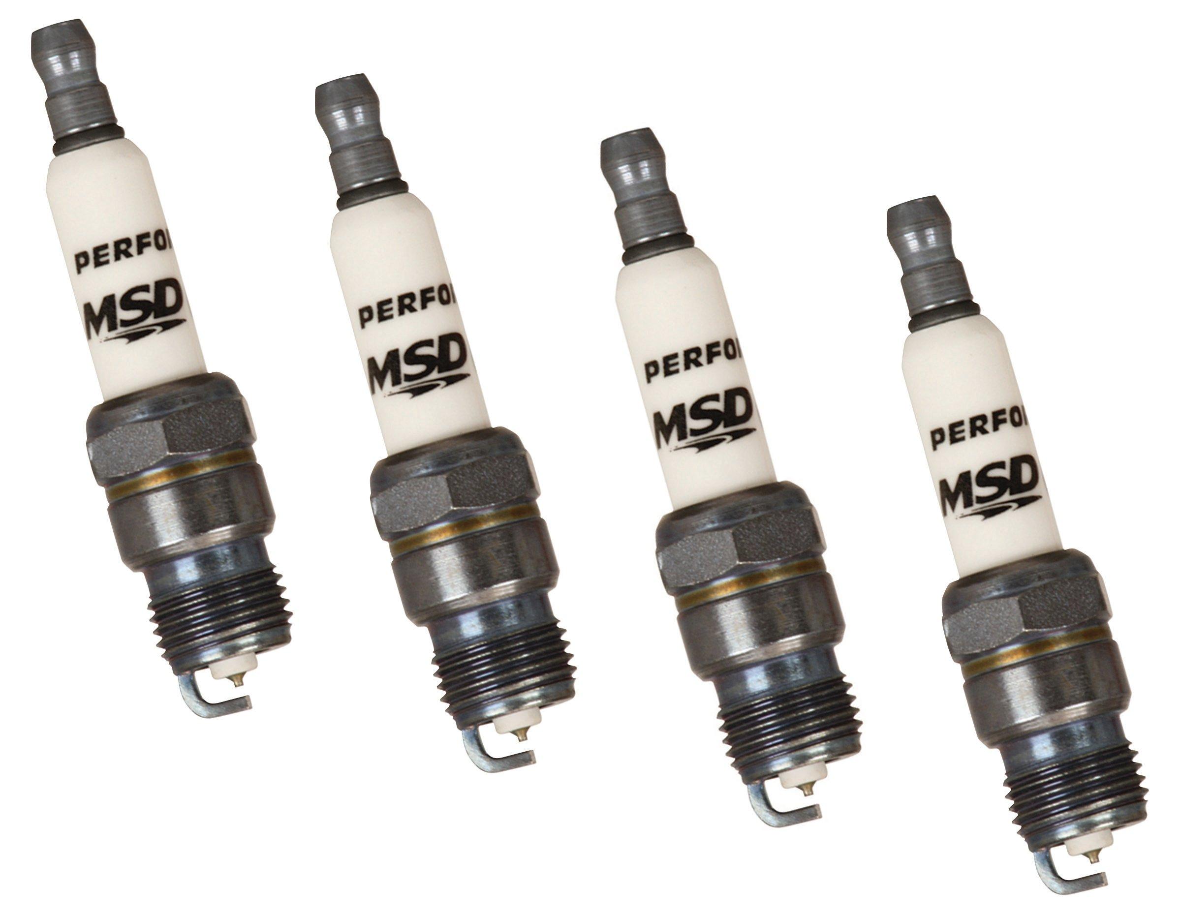 4 Pack MSD Ignition 37264 Spark Plug 7IR6L
