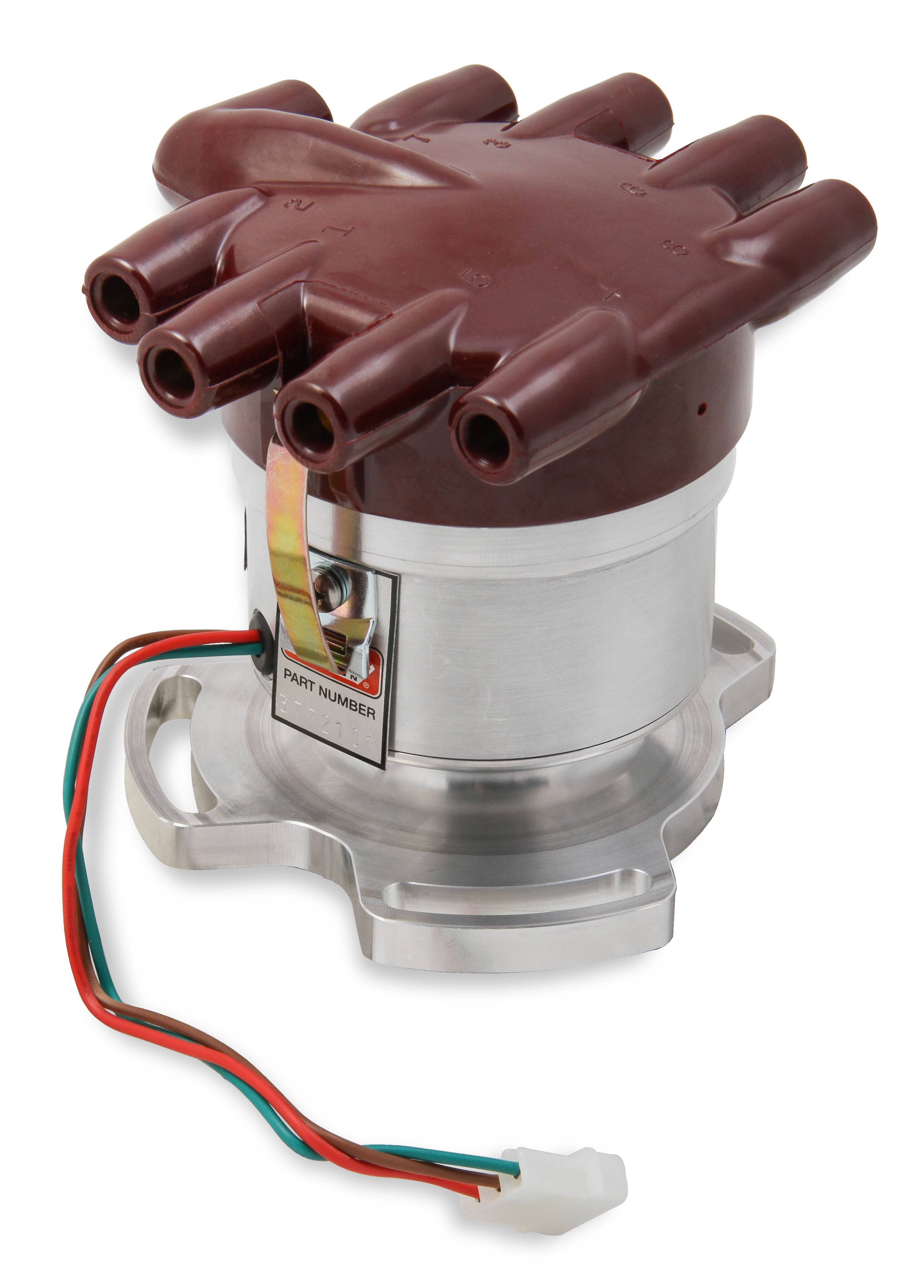 mallory unilite, 3 bolt ford flathead Distributor Cap Diagram