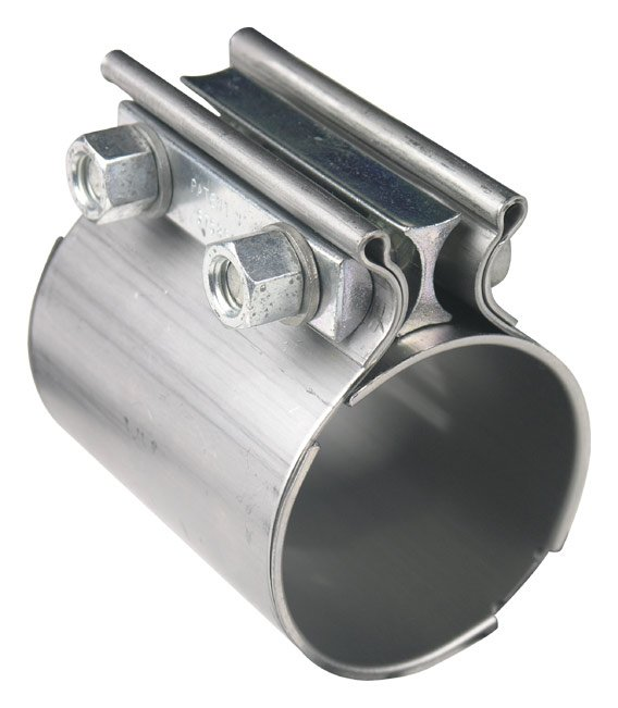 Steel Coupler For Exaust : Hooker hkr exhaust coupler clamp