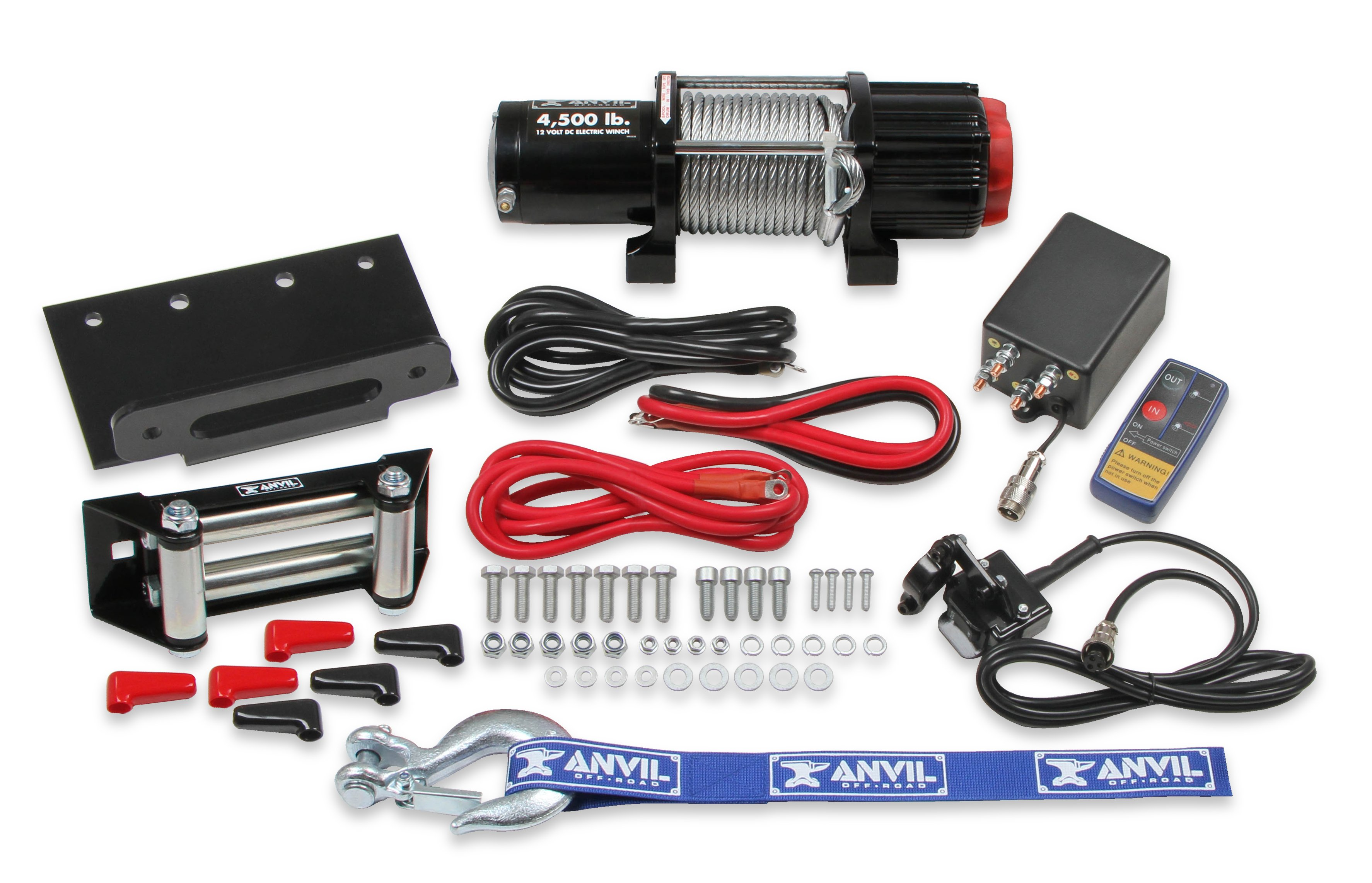 Anvil Off-Road Releases Winches, Service Parts & Accessory